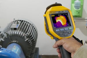 caméra thermique mesure température