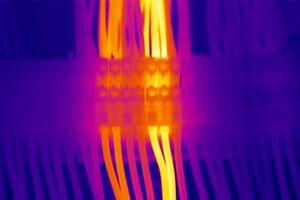 Image thermique installation électrique