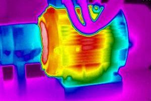 Thermographie infrarouge moteur électrique