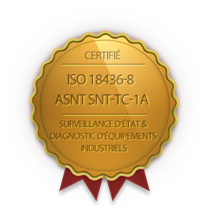 Certificat ISO 18436-8 ASNT SNT-TC-1A