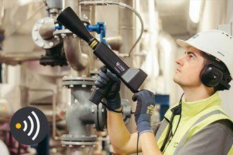 Recherche de fuites d'air comprimé, gaz, vapeur, contrôle purgeurs de vapeur, économie énergie
